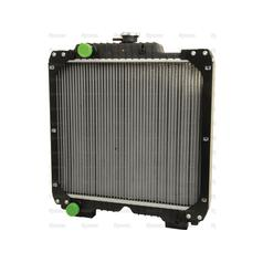 Case/IH JX Series & Ford New Holland TD Series Radiator | 5096595, 84172100
