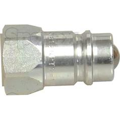 "Poppet Valve Coupling - Male - 1/2"" NPT - 2NS Series"