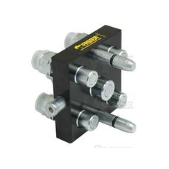 Faster Multiport Coupling - 5 Ports 3/8'' x M22 x 1.5 Metric Male Thread Thread (Mobile Part)