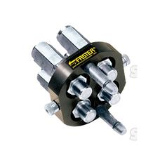 Faster Multiport Coupling - 4 Ports 1/2'' x 1/2'' BSP Female Thread (Mobile Part)