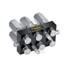 Faster Multiport Coupling - 6 Ports 1/2'' x 1/2'' BSP Female Thread (Mobile Part)