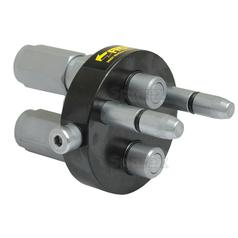 Faster Multiport Coupling - 2 Ports 3/8'' x 1/2'' BSP Female Thread (Mobile Part)