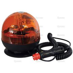 Halogen Beacon, Magnetic, 12/24V