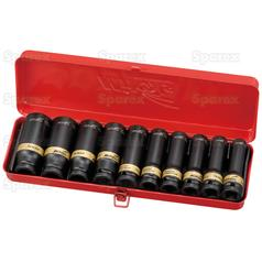 1/2°€™°€™ Drive Deep Impact Socket Set (10pcs.)