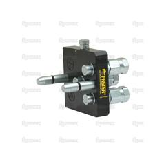 Faster Multiport Coupling - 3 Ports 1/4'' x 9/16'' UNF Male Thread Thread (Mobile Part)
