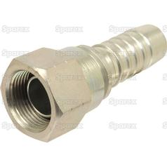 Gates BSP 60° Hose Insert 5/8'' x 5/8'''' Female Straight Swivel - view 2