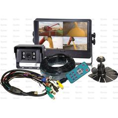 Wired Reversing Camera System with 9'' LCD Monitor & Camera