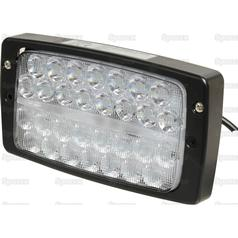 G312900113020 Fendt Led Work Light Rectangular 3280 Lumens Uk Branded Tractor Spares