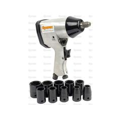 Air Impact Wrench Set - Metric