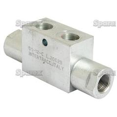 Hydraulic Double Acting Check Valve