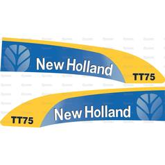 Decal Set - Ford TT75 for Ford New Holland (84192467) on