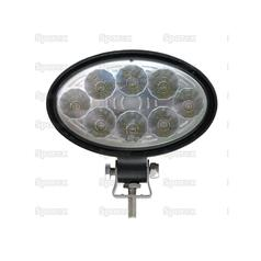 LED Work Light Oval, 1760 Lumens