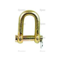 D Shackle, Pin Ø11mm, Jaw Width: 22mm