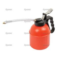 Plastic Oil Can with flexible delivery tube