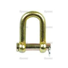 D Shackle, Pin Ø13mm, Jaw Width: 25.4mm