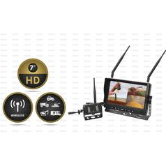 "Wireless Digital Reversing Camera System with 7"" LCD Monitor & 1 Camera"