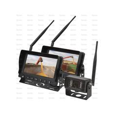 "Wireless Digital Reversing Camera System with 2 x 7"" LCD Monitor & 1 Camera"
