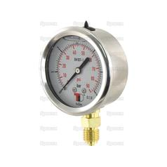Hydraulic Pressure Gauge Ø63mm (0-6 Bar)