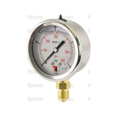 Hydraulic Pressure Gauge Ø63mm (0-40 Bar)