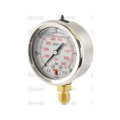 Hydraulic Pressure Gauge Ø63mm (0-600 Bar)