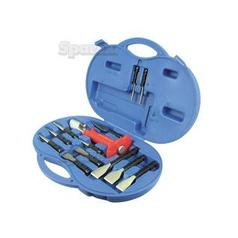 Chisel and Punch Set (Double Locking Device) (12pcs.)