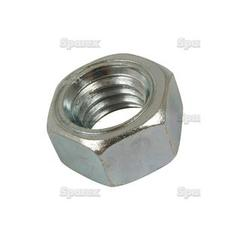 Imperial Hexagon Nut, Size: 7/16'' UNC (Din 934) Tensile strength: 8.8