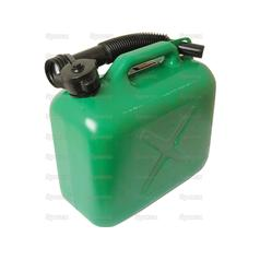 JERRY CAN-PLASTIC-GREEN-5L