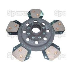 "David Brown 1690/1594/1694 Clutch Plate Main, 12"" x 1.3/4"", 17 Spline 