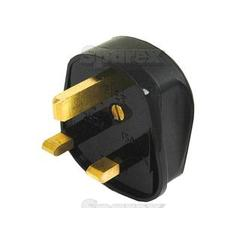 Heavy Duty Rubberised Plug, 13 Amps