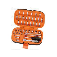1/4°€™°€™ Drive Ratchet Socket Set (44pcs.)