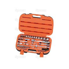 1/4'' & 1/2'' Drive Ratchet Socket Set (47 pcs.)