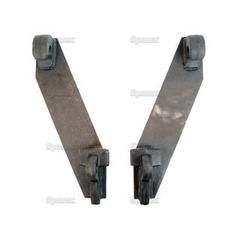 Loader Quick Attachment Bracket, RH/LH