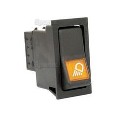 Rocker Switch - Work Lights, 2 Position (On/Off)