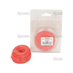 Single Core Electrical Cable 2mm² Red 10M Agripak