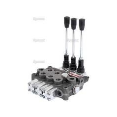"Hydraulic Monoblock Valve3/8""BSP Ports 3 Banks Single/Double/Double acting Spring centered"