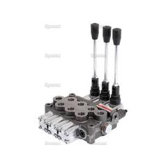 "Hydraulic Monoblock Valve3/8""BSP Ports 3 Banks Double/Double/Double acting Spring centered"