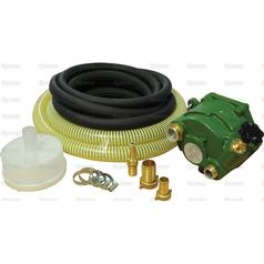 "PTO Driven Pump Kit with 5m inlet and 9.5m delivery hose | fits 1 3/8"" x 6 PTO"
