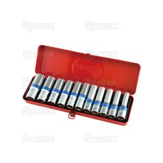 1/2°€™°€™ Drive Deep Socket Set (11pcs.)