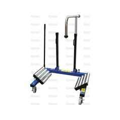 Workshop Dual Wheel Dolly | For Safe Wheel  Removal, Handling and Fitting