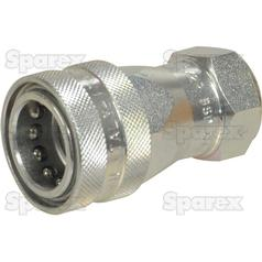 "Hydraulic Quick Release Coupling 1/2""BSP female Agripak"