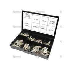 Swage-On Ring Ends Handipak (50 pcs.)