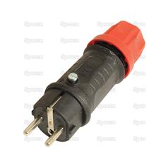 2 Pin Electrical Plug, 16 Amps