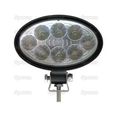 LED Work Light - aluminium case, 1800 lumen | 12/24 Volts, LEDs 8x3w