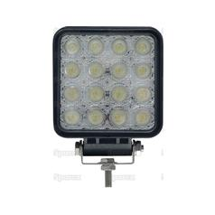 LED Work Light - aluminium case, 3600 lumen | 12/24 Volts, LEDs 16x3w