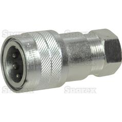 "Hydraulic Quick Release Coupling 3/8""BSP female"