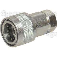 "Hydraulic QR Coupling 1/2""BSP female 
