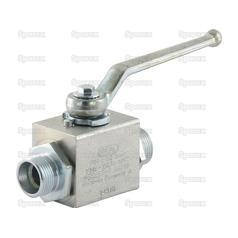 Hydraulic 2-Way Shut-off Ball valve M22 x 1.5