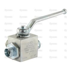 Hydraulic 3-Way Diverter Ball valve M18 x 1.5