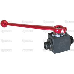 Hydraulic 2-Way Diverter Ball valve M12 x 1.5