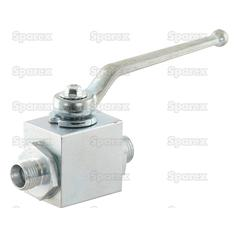 Hydraulic 2-Way Diverter Ball valve M16 x 1.5